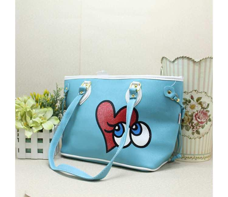 Long Handle Bag -BML3763NBLUE