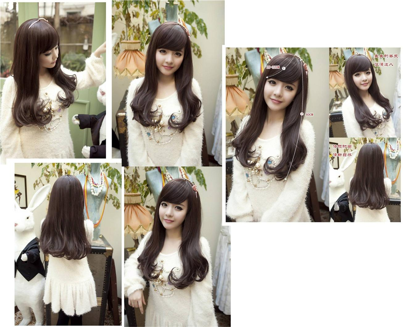 Long wig*13Oct-ready stock-rambut palsu