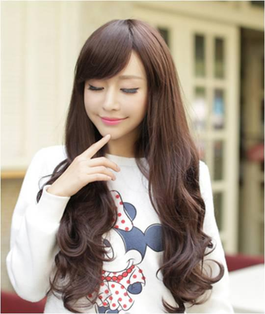 long wig*F10 ready stock-rambut palsu