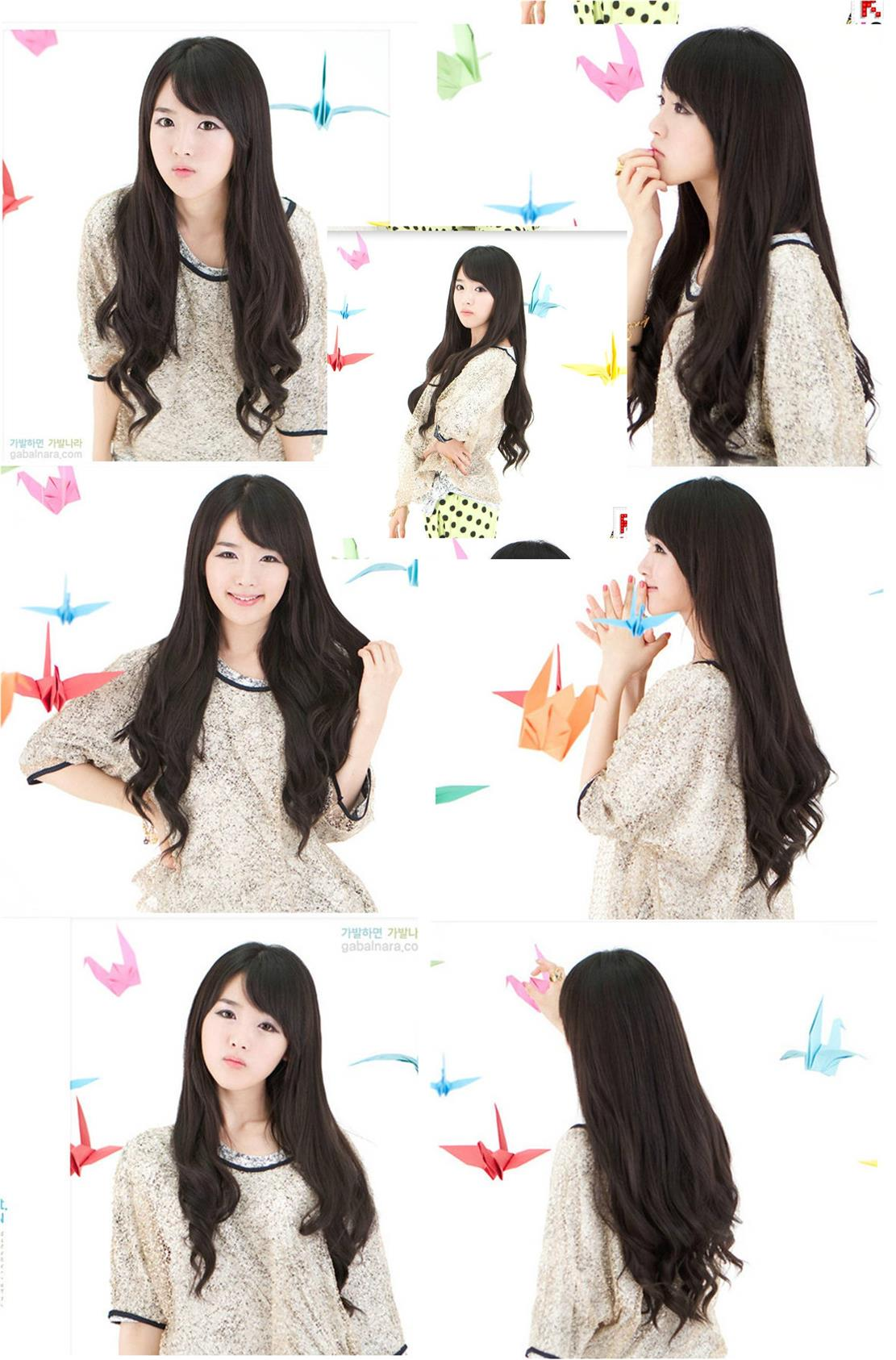long wig* F34 ready stock-rambut palsu