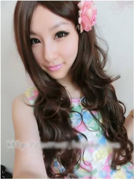 Long wig*H2 / ready stock/rambut palsu