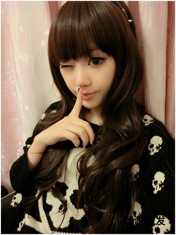 Long wig* nov15ready stock-rambut palsu