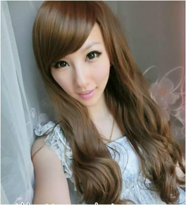 Long wig *ready stock a7-rambut palsu