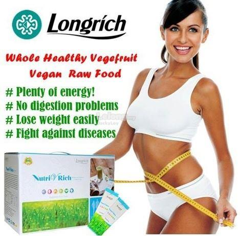 Longrich Nutri V Rich Organic Raw Food (45 varieties) with Probiotics