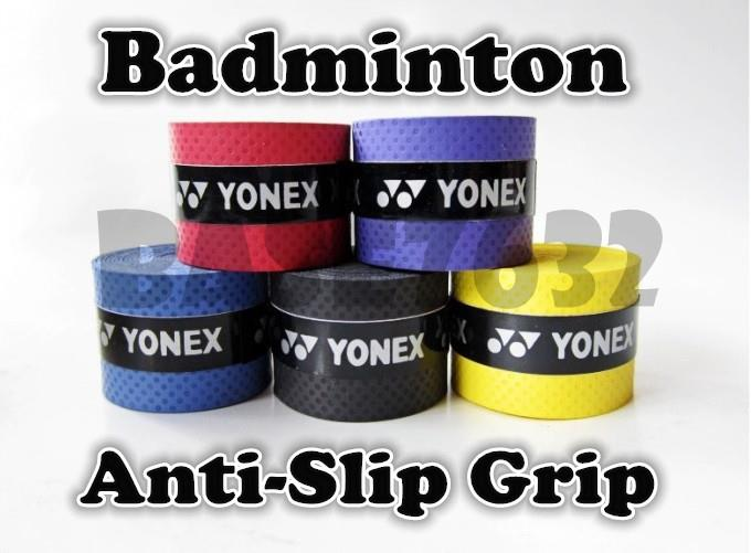 Lot of 5 pieces Badminton Easy Over Anti-Slip Hand Grip