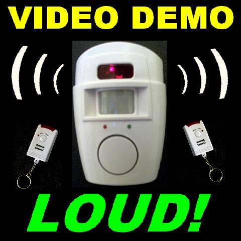Remote Motion Detector Security Systems