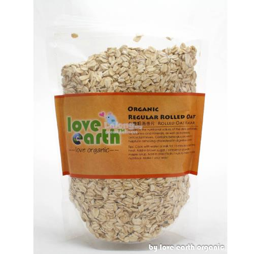 Love Earth Organic Regular Rolled Oat