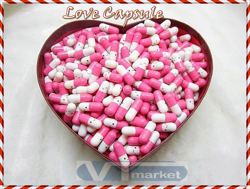 Love Message In Capsule - Valentine Gift