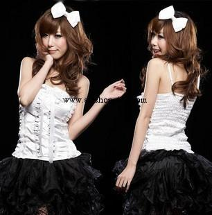 My Love MM sought after black and white suit with princess 00243