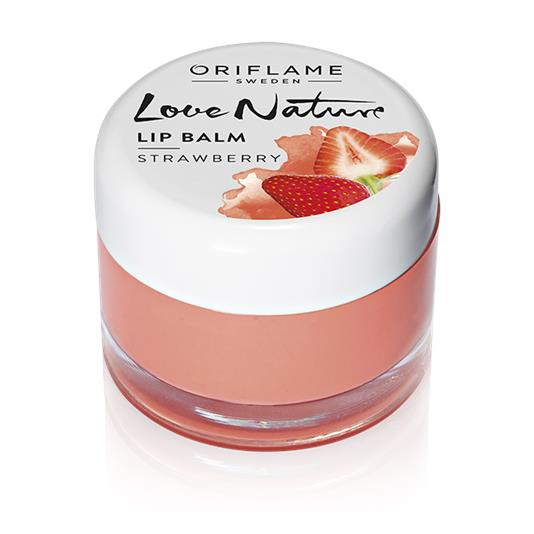 Love Nature Lip Balm - Strawberry