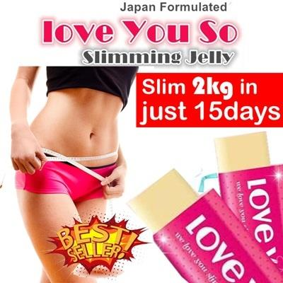 Love You So Slimming Jelly Fat Burner - Weight Loss