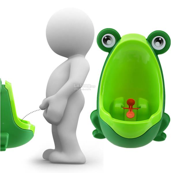 Lovely Frog Children Kids Potty Removable Toilet Training Kids Urinal