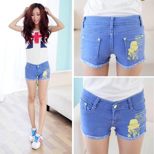 Lovely Shorts Jeans 15379 (Blue)