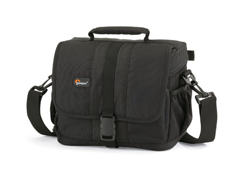 Lowepro Adventura 160 Shoulder Bag- Black - Free Shipping!!!