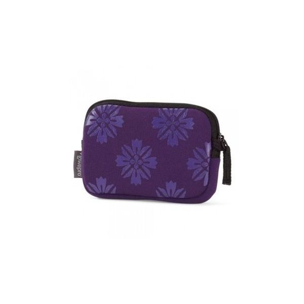 Lowepro Melbourne 10 Pouch - Purple Flower
