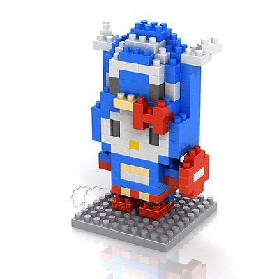 LOZ Hello Kitty Series Captain America Kitty Mini Building Nano Blocks