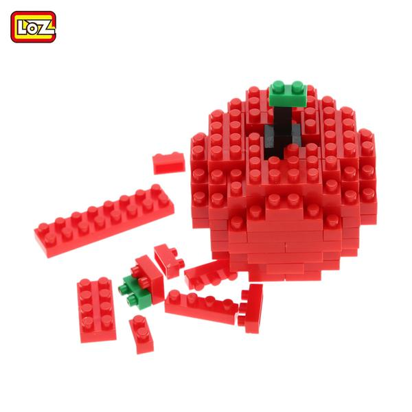 LOZ Nano Blocks Micro Building Blocks Toys Mini Diamond Blocks Frui