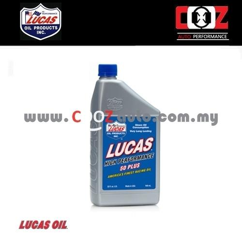 Lucas SAE 50 Plus Synthetic High Performance Racing Oil (946ml)