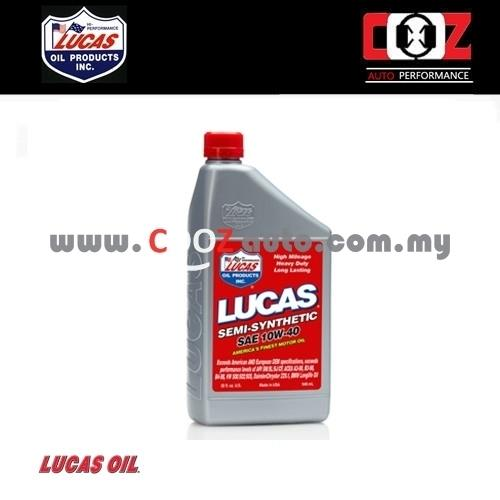 Lucas semi synthetic blend sae 10w40 end 6 22 2016 4 29 pm for Synthetic motor oil sale