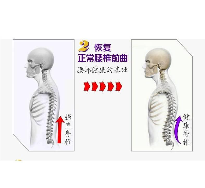 Lumbar muscle strain heating traction device waist JT 0017