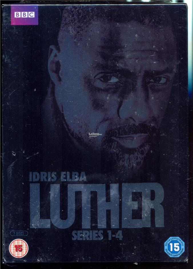 Luther - The Complete Series - New Box Set DVD