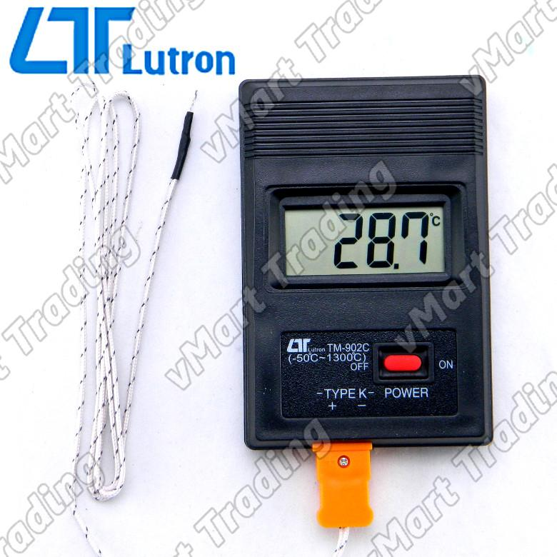 Lutron TM-902C Type-K Digital Thermometer