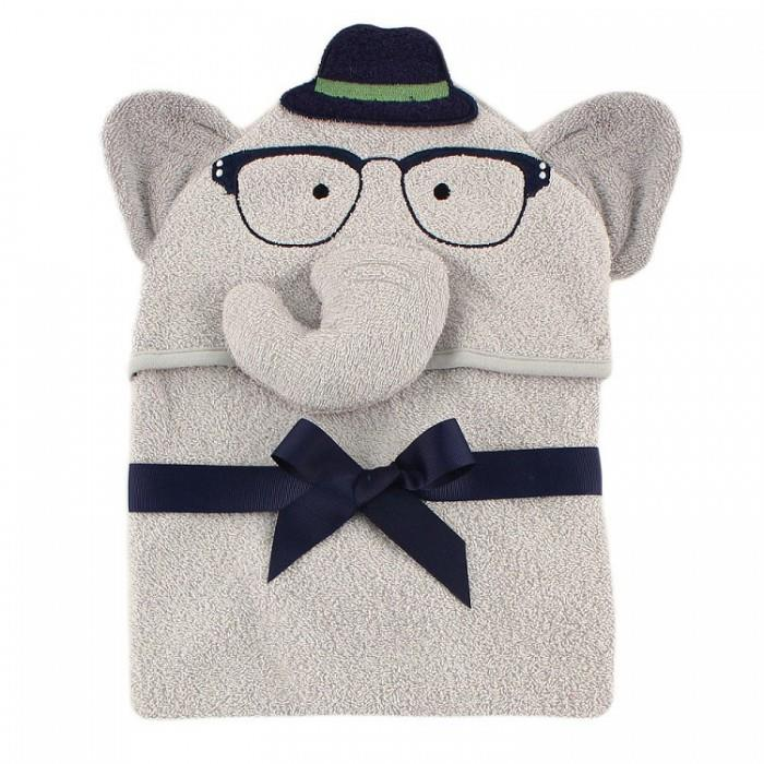 Luvable Friends Animal Hooded Towel Embroidery
