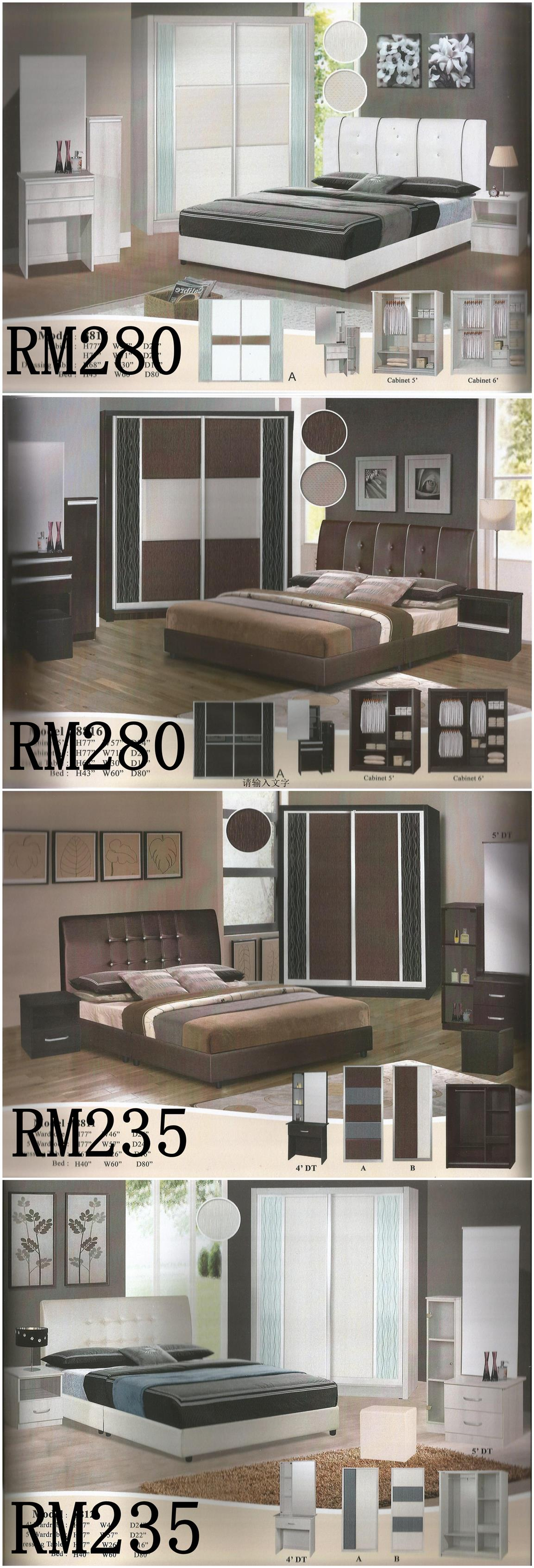 LUXURY SET (BEDROOM SET INCLUDING MATTRESS) LOW PRICE INSTALLMENT PLAN