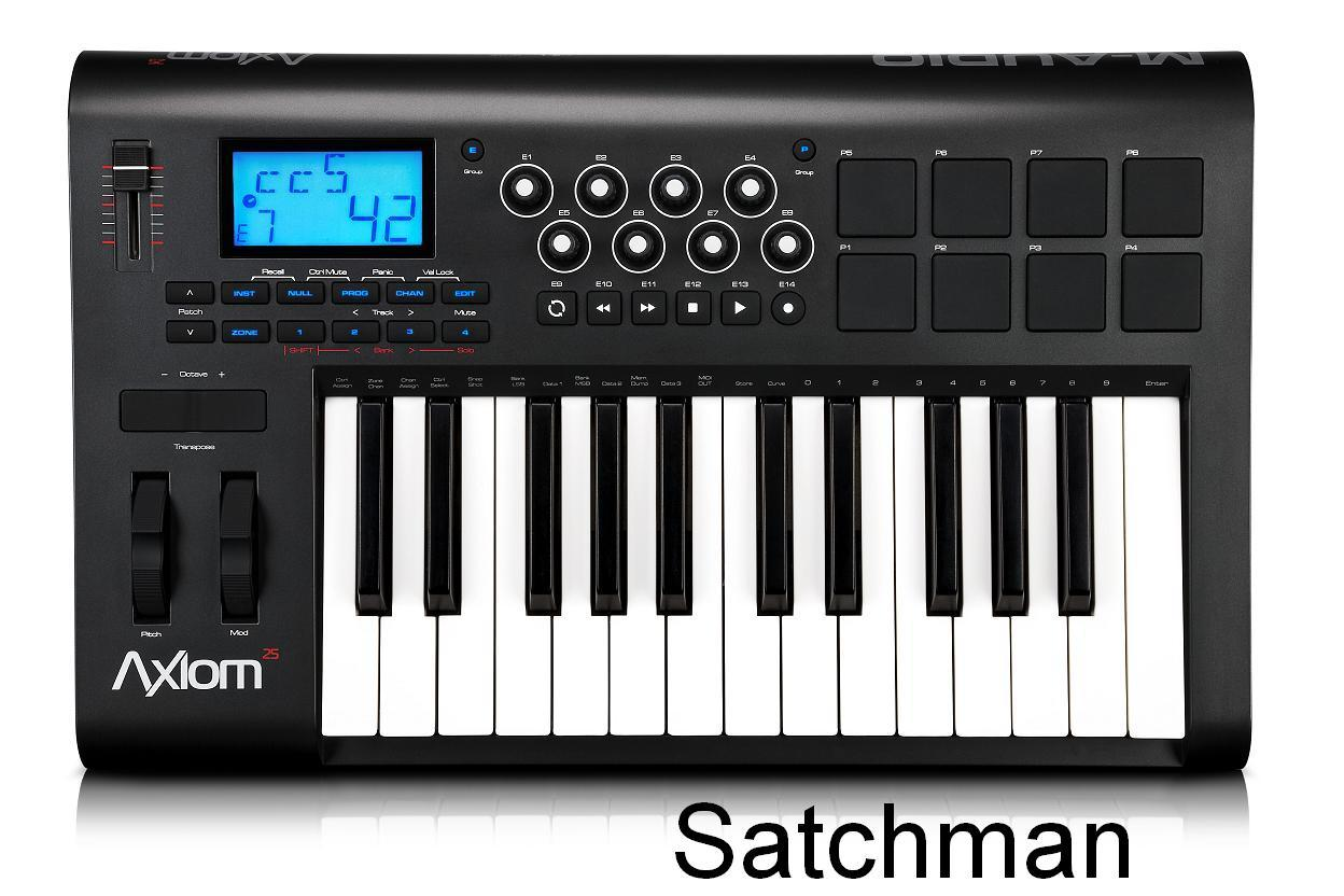 M-AUDIO Axiom 25 - (25-Key) MIDI Controller (NEW) - FREE SHIPPING