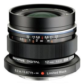 M.ZUIKO DIGITAL ED 12MM F2 LENS(BLACK)LIMITED EDITION