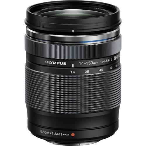 M.ZUIKO DIGITAL ED 14-150MM F4~5.6 II LENS(BLACK)