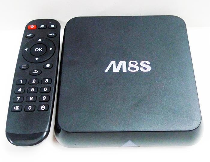 M8s Amlogic S812 Quad Core Android TV Box KODI 4K rooted MX