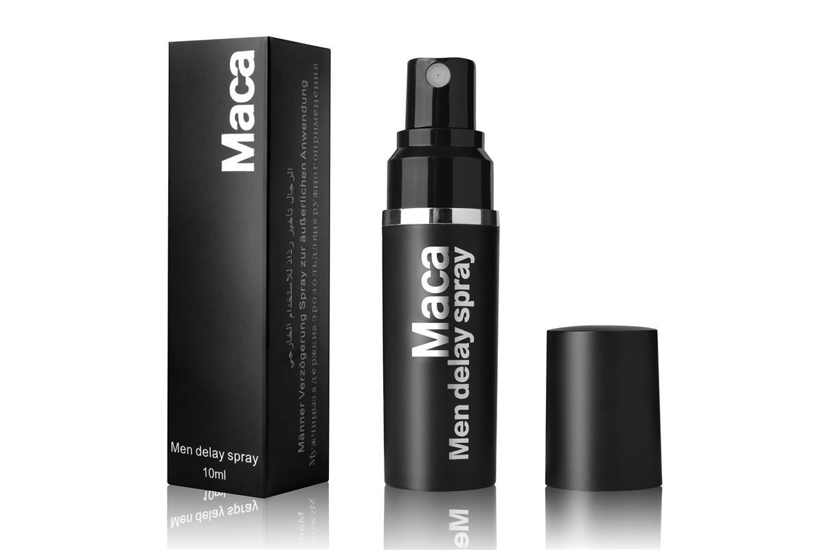 Maca Men Delay Spray 10ml (Tahan Lama Delay Prolong) Free 2pcs Condom