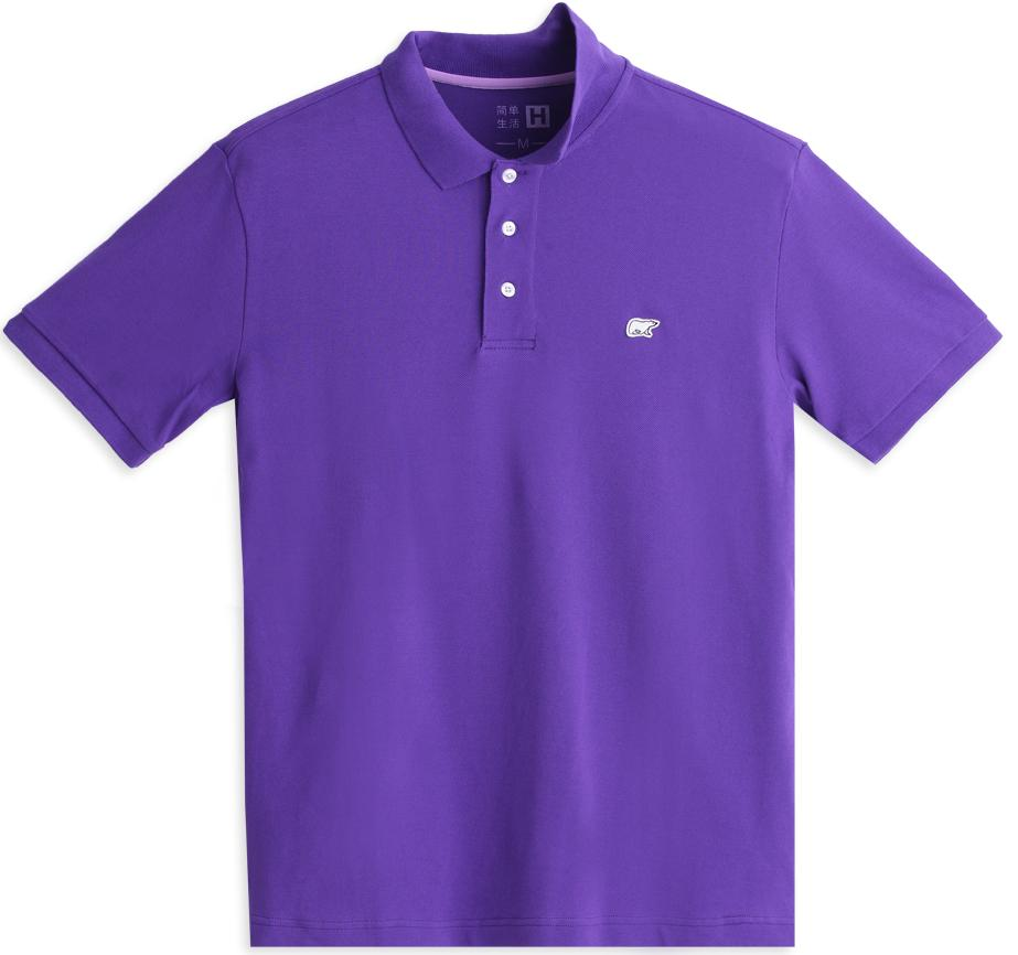 mens polo shirts purple