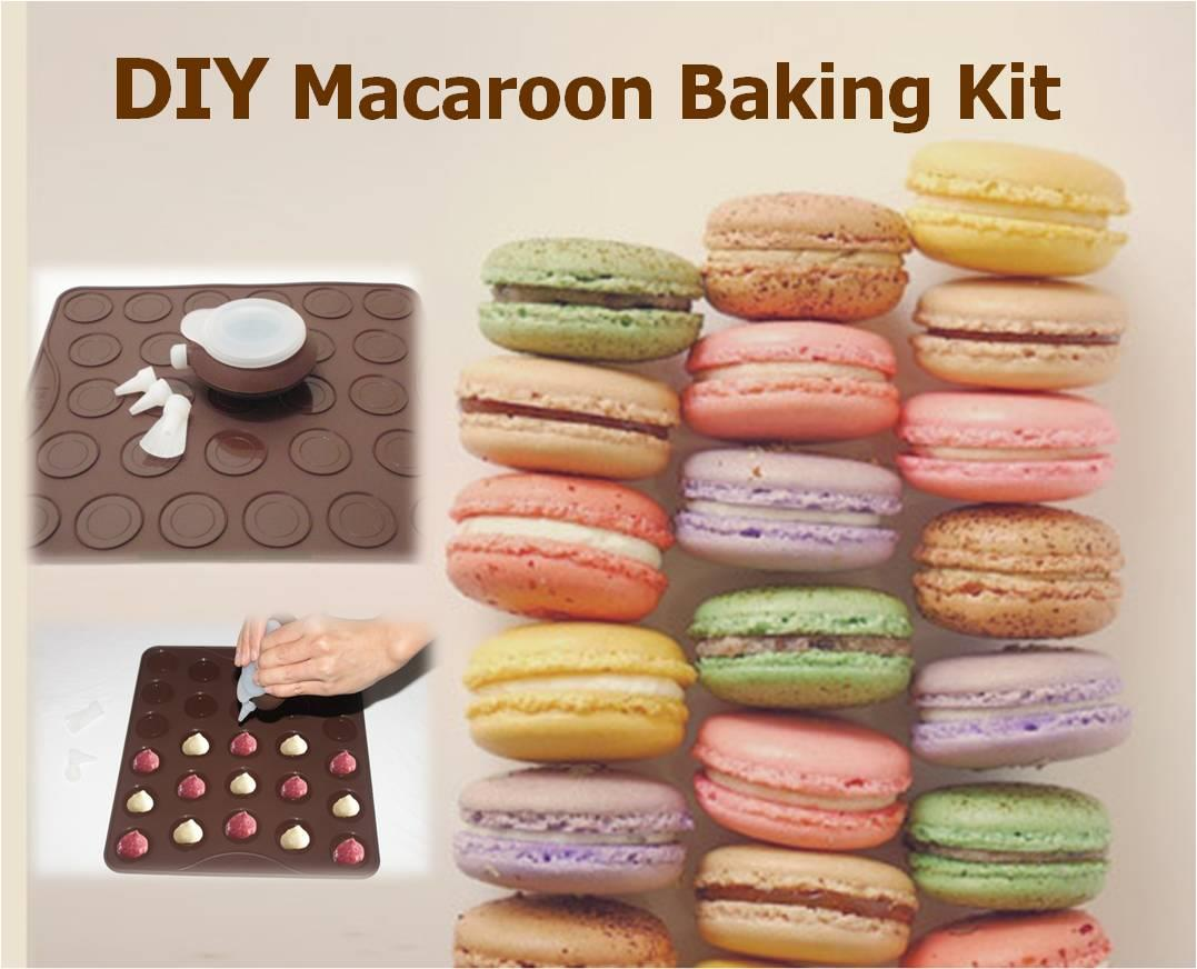 Macaroon Kit (Round / MickeyMouse,HelloKitty,Flower / Bear,Heart,Star)
