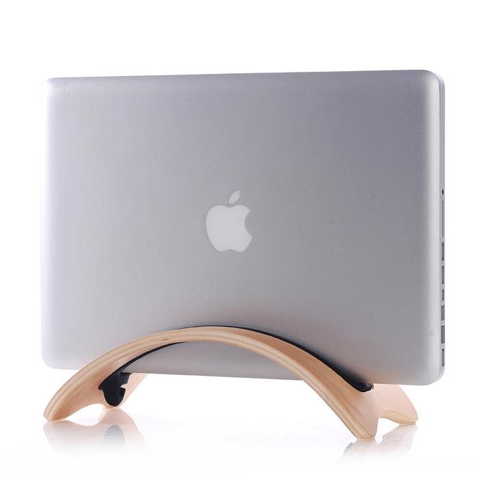 MACBOOK WOODEN LAPTOP DESKTOP STAND