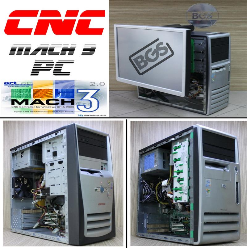 Mach3 CNC Desktop pc With 19 Inch Touchscreen Lcd Monitor