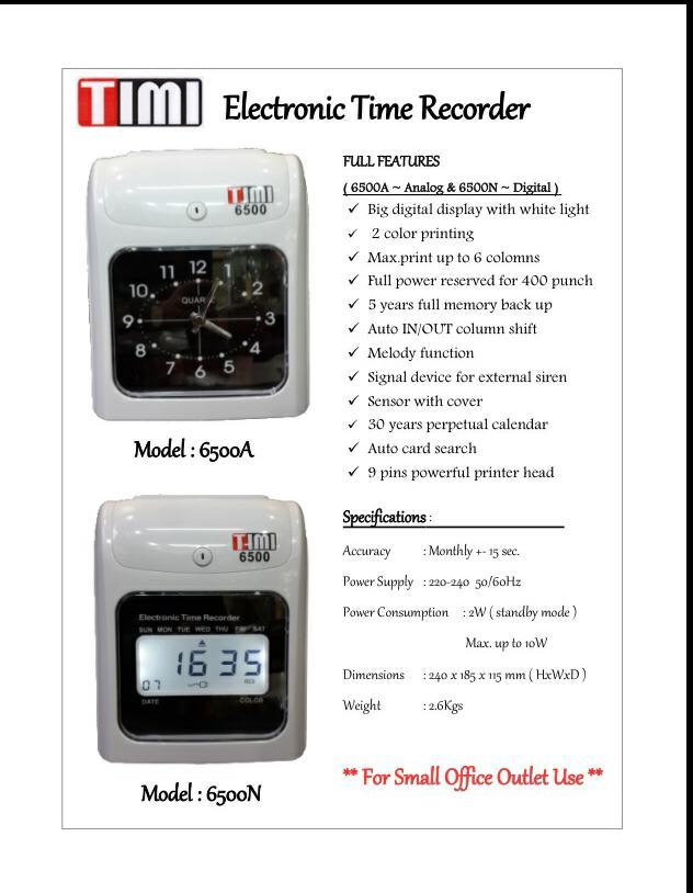 time recorders time punching machine