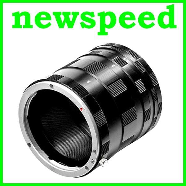 New Macro Extension Tubes Adapter for Panasonic Lumix MFT DSLR Camera