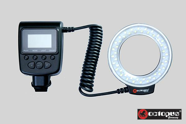 Macro Ring Flash LED for Nikon D7000 D5200 D3200 D3100 D60 D90 D80 D70