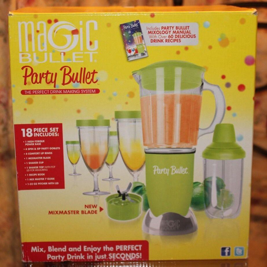 MAGIC BULLET Party Bullet Blender 18 PIECE SET