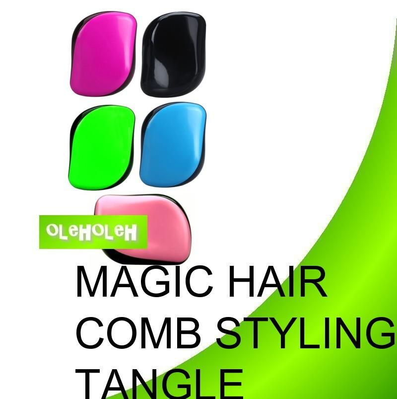 Magic Hair Comb Hair Bean Styling Hairbrush