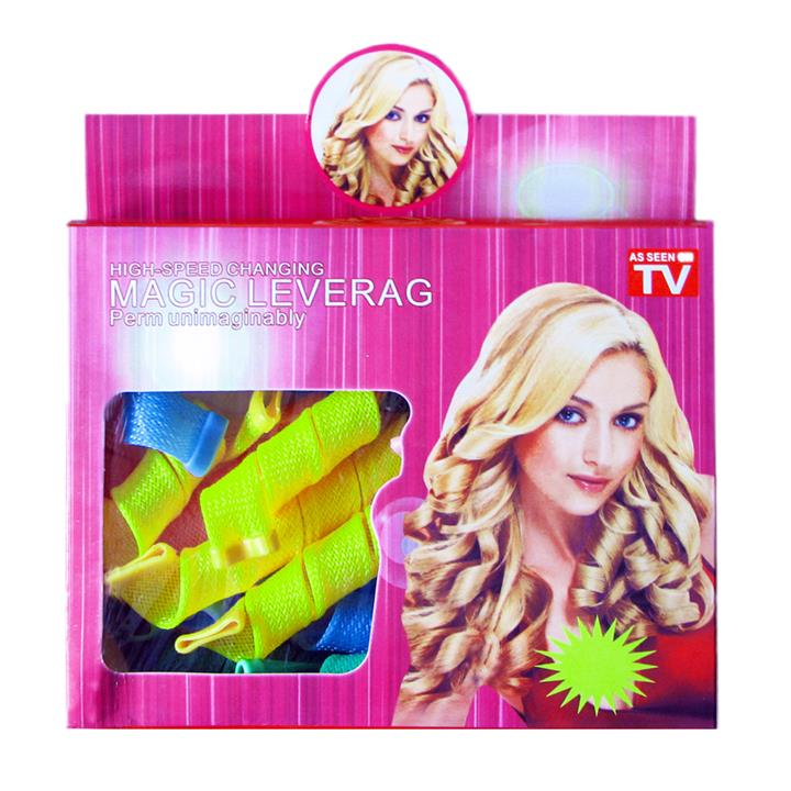 Magic No Heat Heatless Hair Curlers (Standard Size - 2cm diameter)