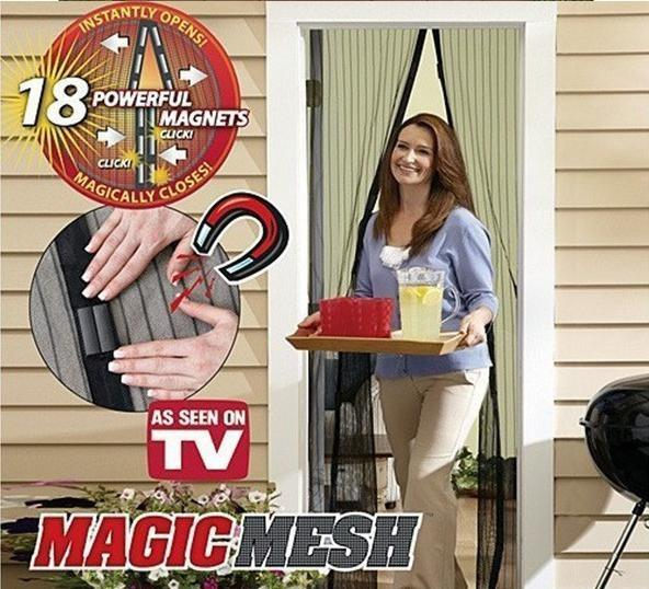 MAGIC MESH Magnetic Anti Mosquito Hand Free & Easy to use