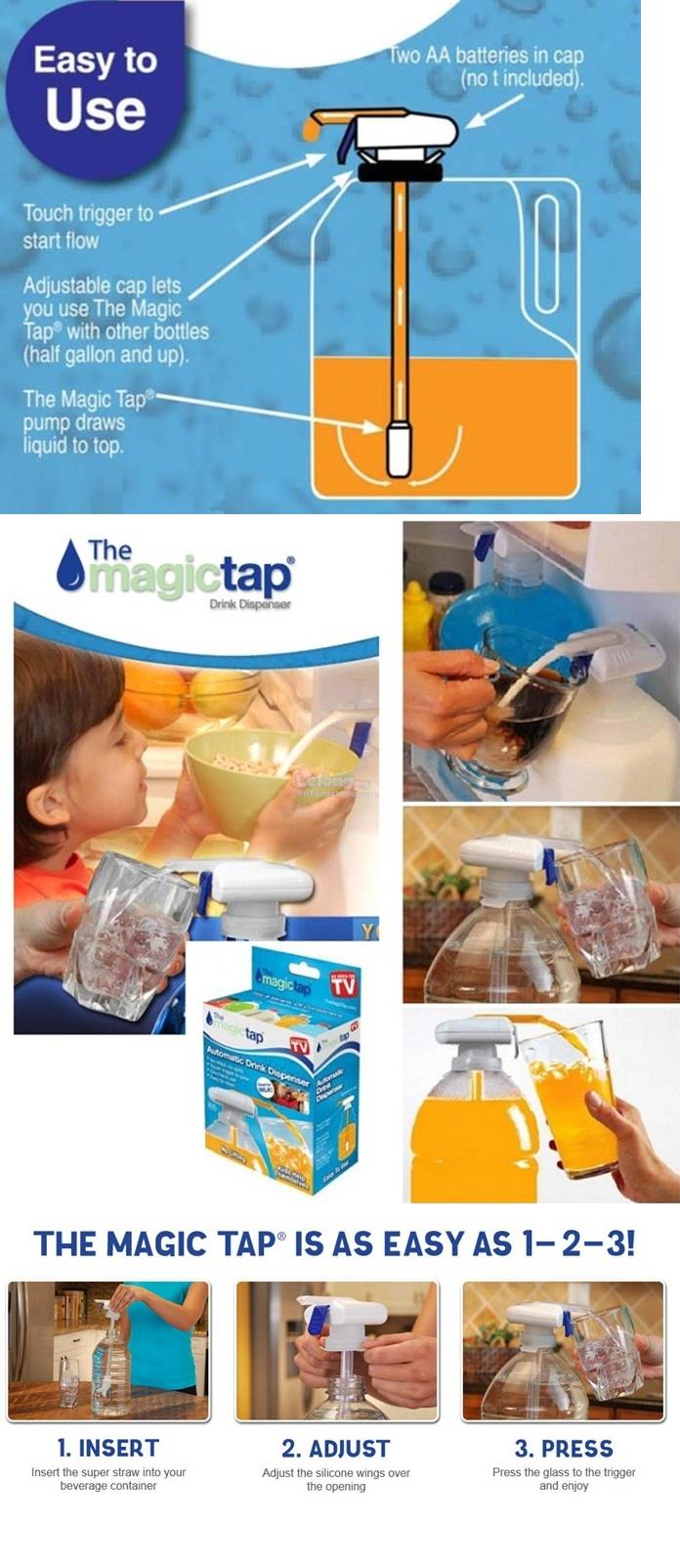 Magic Tap Electrical Automatic Water Dispenser (Suction Device)