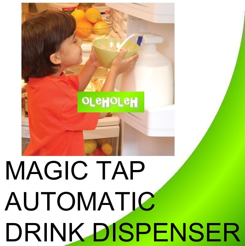The Magic Tap The Spill Proof Automatic Drink Dispenser