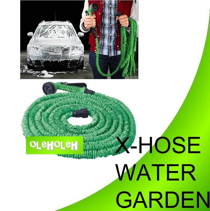 Magic X HOSE Garden Water Hose With Sprinkler Head Water Jet 50Feet