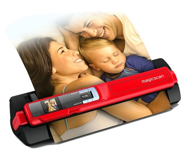 MAGICSCAN 2 IN 1 PORTABLE SCANNER (T4GD) RED