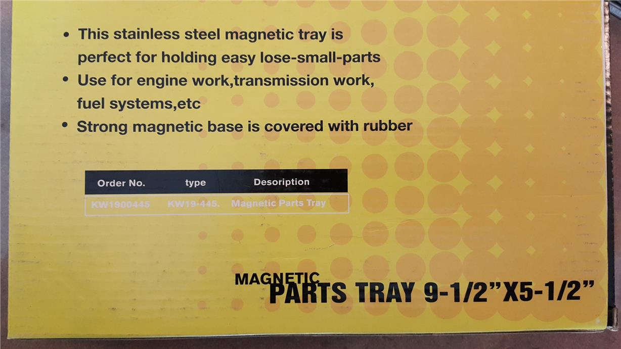 Magnectic Tray ID885528
