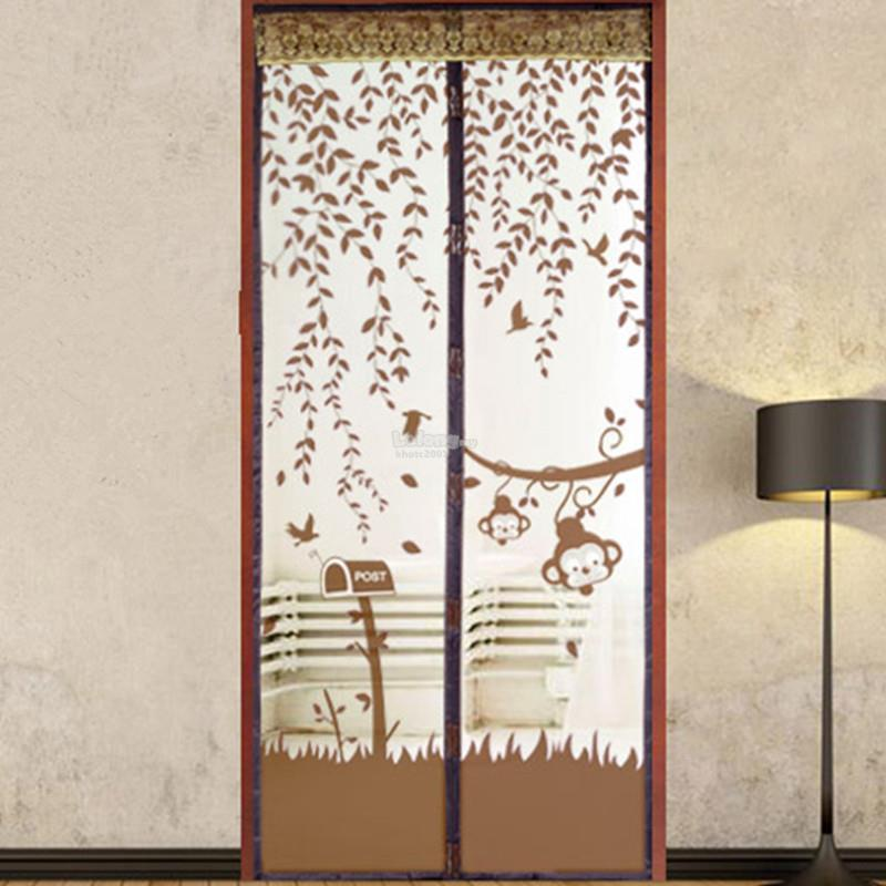 Magnetic Anti Mosquitoes Door Net Curtain